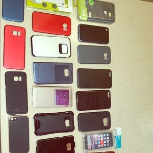 Lot Assorted Phone Cases iPhone Samsung Galaxy